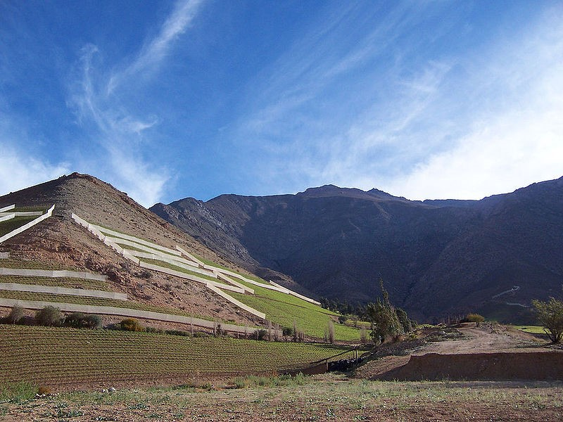 Foto: Wikimedia. Valle del Elquil